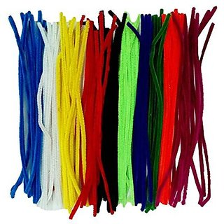 Pipe Cleaners Multi Color Set Of 100 , 12  Length