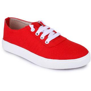 Funku Fashion Red Casual Shoes