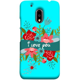 FUSON Designer Back Case Cover for Moto E3 Power :: Motorola Moto E3 Power (Pink Red Wallpapers Flowers Lovers Boyfriends )