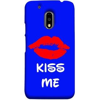 FUSON Designer Back Case Cover for Moto E3 Power :: Motorola Moto E3 Power (Happy Joyful Enjoying Lovely Kissing Full Of Love Couples)