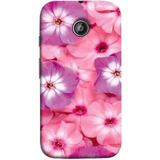 FUSON Designer Back Case Cover for Motorola Moto E2 :: Motorola Moto E Dual SIM (2nd Gen) :: Motorola Moto E 2nd Gen 3G XT1506 :: Motorola Moto E 2nd Gen 4G XT1521 (Floral Patterns Digital Textiles Florals Design Patterns)