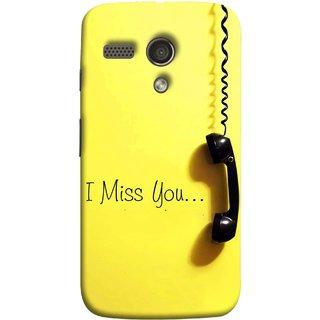 FUSON Designer Back Case Cover for Motorola Moto G :: Motorola Moto G (1st Gen) :: Motorola Moto G Dual (Always I Love You Red Hearts Couples Together Valentine)
