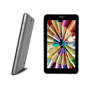 iBall Slide Tablet 3G Q7271-IPS20 (Quad Core /Kit-Kat/ 1GB RAM  Black & Gold