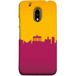 FUSON Designer Back Case Cover for Moto E3 Power :: Motorola Moto E3 Power (Astounding Skyscrapers Of Remarkable Architectural)