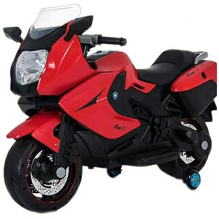 Oh Baby, Baby Battery Operated BMW Model Bike RED Color With Musical Sound For Your Kids SE-BOB-23