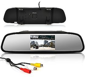 4.3 Inch Rear View TFT LCD Monitor Mirror Screen Display For Reverse Parking and Rear View