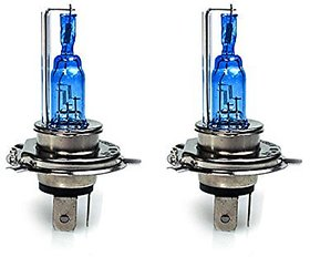 STAR SHINE  - Xenon Cyt White Headlight Bulbs For Royal  BULLET 350 Set of 2