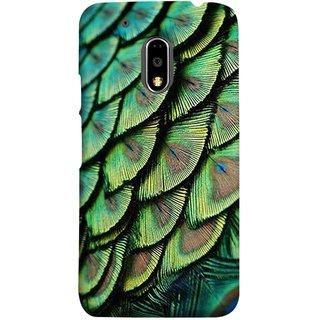 FUSON Designer Back Case Cover for Moto E3 Power :: Motorola Moto E3 Power (Colourful Psychee Vibrant Colors Modern Art Silk Paintings )