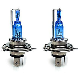 STAR SHINE  - Xenon Cyt White Headlight Bulbs For Royal  BULLET 500 Set of 2