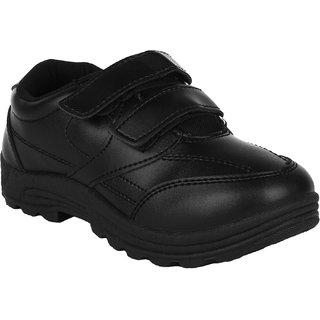 Fuel Boys Velcro Formal Boots
