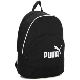 Puma White Door Black Backpack