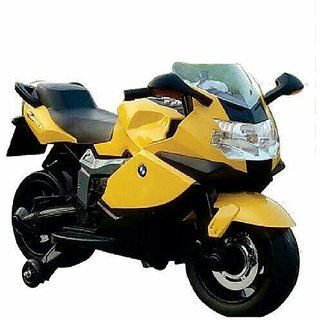 Oh Baby Battery Operated BMW 1200RT Model Bike WHITE Color With Musical Sound For Your Kids SE-BOB-30