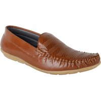 Austrich Brown Trendy Loafers For Mens