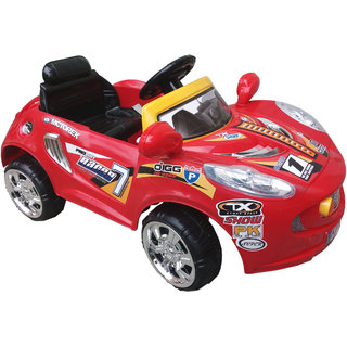 Buy Oh Baby Baby Battery Operated Sports Car Red Color With Remote
