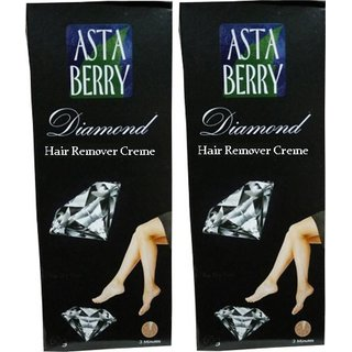 Astaberry DIAMOND hair remover creme 60g(pack of 2)