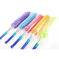 COMBO OF MICROFIBER HAND TOWEL & Microfiber Duster With Expandable Handle