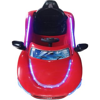 Oh Baby, Baby Battery Operated LED Light Car Red Color With Remote Control And Mobile Music Connectivity SE-BOC-06