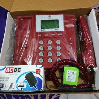 Buy Bsnl Landline Phone Red In Color As Well Suitable