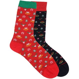 Soxytoes His  Her Christmas Collection Socks Pack of 2