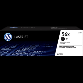 HP 56X High Yield Black Original LaserJet Toner Cartridge (CF256X)