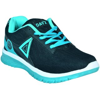 DAYZ WOMEN COMFORTABLE BLACK GREEN COLOR SPORTS /RUNNING SHOES ( 03)