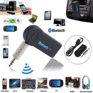 SCORIA Wireless Bluetooth Receiver Adapter 3.5MM AUX Audio Stereo Music Home Hands free Car Kit For Maruti Suzuki S-Cross