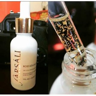 Buy Farsali Rose Gold Elixir Serum Imported Brand High Quality Online - Get 51% Off