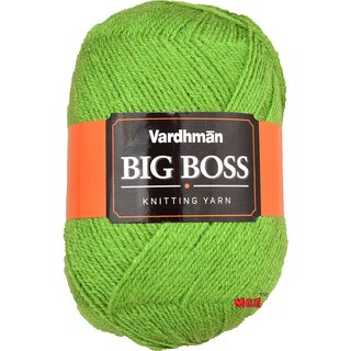 Vardhman Bigboss Apple Green 200 gm hand knitting Soft Acrylic yarn wool thread for Art & craft, Crochet and needle