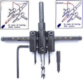 30mm- 120MM Wood Board Shaft Drill Hole Saw Cutter Tool