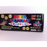 Royal Loom Bands Kit Colorful D.I.Y 500 Pcs Rubber Band