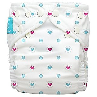 Charlie Banana 2-in-1 Reusable Diapers, Lovely Blue