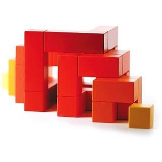 Naef Cubicus Block Set, Red