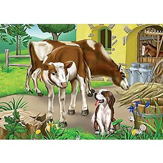 Farm Cows Puzzle (35 Pieces)