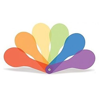 Colour Paddles (Set of Six) 6""