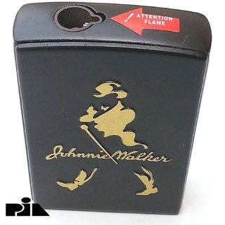 JOHNNIE WALKER Cigarette Lighter Gas Refillable Jet Flame Windproof