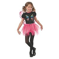 Rubies Pink And Black Butterfly Costume, Small