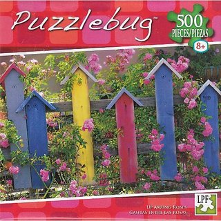 Puzzlebug 500 - Up Among Roses