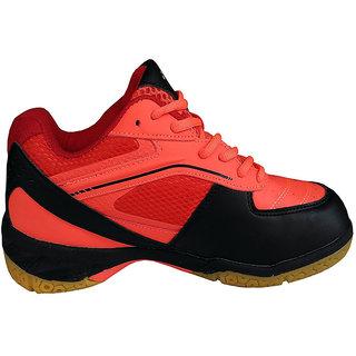 Yonex SRCR65R Badminton Shoes (Red/Black)