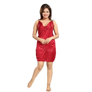 187d300baa Buy Be You Red Polka Dots Women Babydoll Nighty Online - Get 33% Off