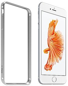 AirCase Premium Ultra-Thin Aluminium Metal Guard Bumper Case Cover for iPhone 6 PlusSILVER
