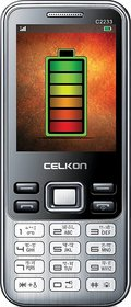 Celkon C2233 Dual Sim 2.4 Display 1.3MP Camera 1800 mAh Battery + Free Silver Coin