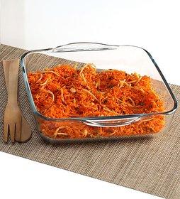 Pasabahce Borcam Microwave safe Square Tray
