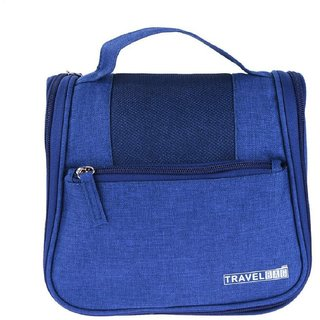 ca32bfe8505 Kanha Waterproof Travel Camping Toiletries Makeup Bag Cosmetic Case Hanging  Bag Organizer Hand Bag Neavy Blue