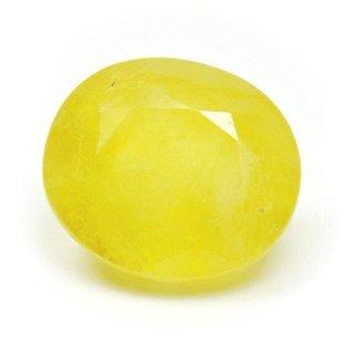 Ratna Gemstone 6.25 Carat Sapphire-Yellow
