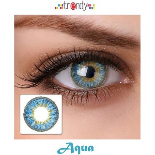 i-look Aqua Colour Monthly(Zero Power) Contact Lens