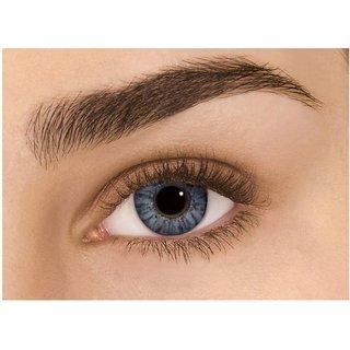 i-look Grey Colour Monthly(Zero Power) Contact Lens