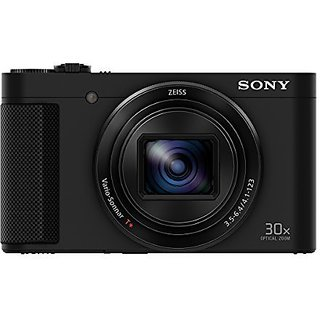 Sony Cybershot DSC  HX90V 18.1MP Digital Camera With Free Memory card  Black  and camera case Point   Shoot Cameras