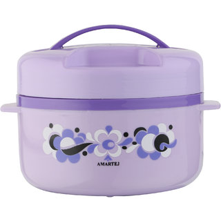 Amartej Prestige Plus 1800 Casserole Insulated Hot Box -Violet