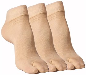 Kotton Labs Women's  Ankle Socks Pack of 3