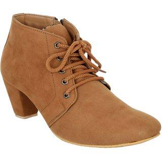 Exotique Womens Tan Casual Boot (EL0040TN)